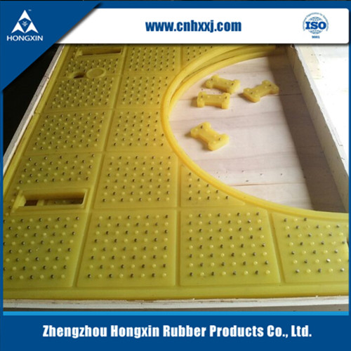 Fire retardant safety polyurethane oil rig platform anti slip pad