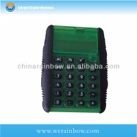 Electronic mini calculator with trade assurance