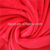 high quality plain dyed flannel fleece blanket