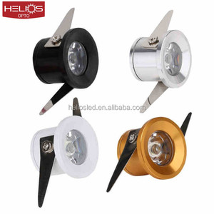 28mm cutout led indoor lighting recessed mini led downlight 1w