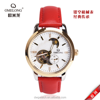 High Quality Moon Phase Glamorous Chronograph Stainless Steel Unisex Watch