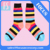 Wholesale men and women striped socks