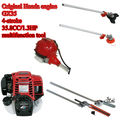 original 4 stroke 35.8cc Honda GX35 engine multifunction garden tool,brush cutter