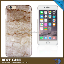 Marble back PC cover for iphone 6 iphone 6 plus water proof case
