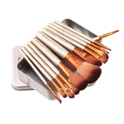 2018 Hot sale makeup brush 12 piece naked 3 set
