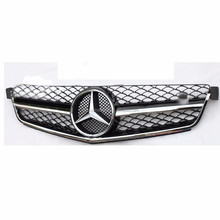 02front bumper grille AMG style for 2007-2011 Mercedes-Benz C63