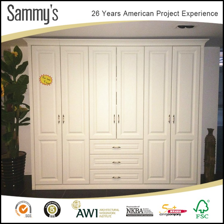 Cheap bedroom wood closet on sale wardrobe cabinet for for Bedroom cabinets for sale