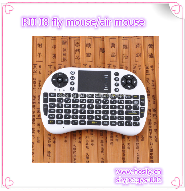 Rii i8 2.4G Wireless Mini Keyboard Touchpad for PC Pad Google Andriod smart TV Box