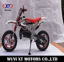 WUYI XT MOTORS New Kids 49cc 50cc 2 stroke Gas Motorized Mini Dirt Bike Pit Bike DB709(A)