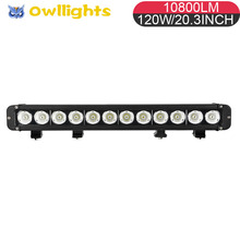 Cree T6 Offroad LED Light Bar LED driving headlight 12pcs 10w Crees Offroad LED Driving Light Bar for Auto Car Accessories