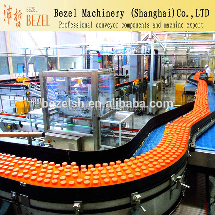 Customized plastic modular belt conveyor mesh belt conveyor used in food industry beverage industry made in China cheap price