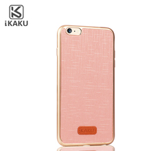 Rose gold high quality luxury leather back cover phone case for iphone 4 4s 5 5s 6 7