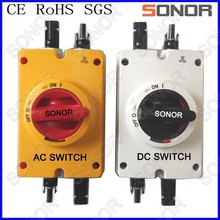 Solor PV DC/AC Isolator Switch