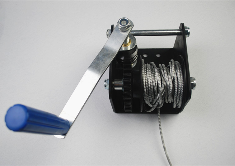 SNOWAVES Mini Hand winch worm gear winch