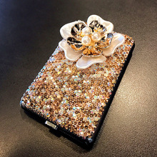 ladies pretty bling cigarette case