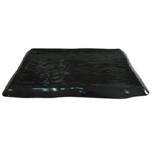 Matted finish bbq dish black melamine plate for korean and Japanese restaurant