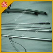 DS Telescopic Aluminum Fiberglass flagpole with cross stand