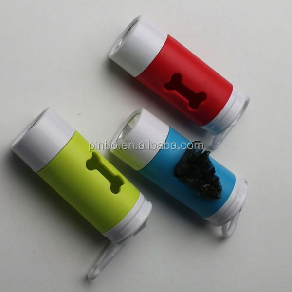 Led Promotional Alibaba Cute Dog Poop Bag Dispenser