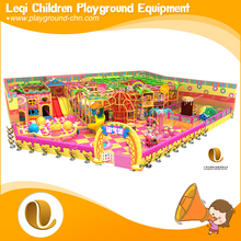 >China manufacture children park adventure climbing net candy style ball pit sand pool indoor playground