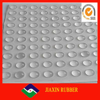 Hot selling sticky silicone furniture foot bumper pad/professional manufacturer silicone rubber pads