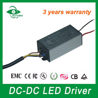 shenzhen factory price waterproof ip67 electronic power supply dc to dc 50w 36v 1500mA driver for solar light