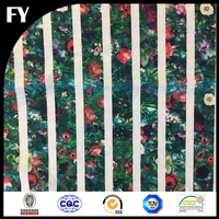 Factory custom hot selling No.1 quality digital print sinamay fabric