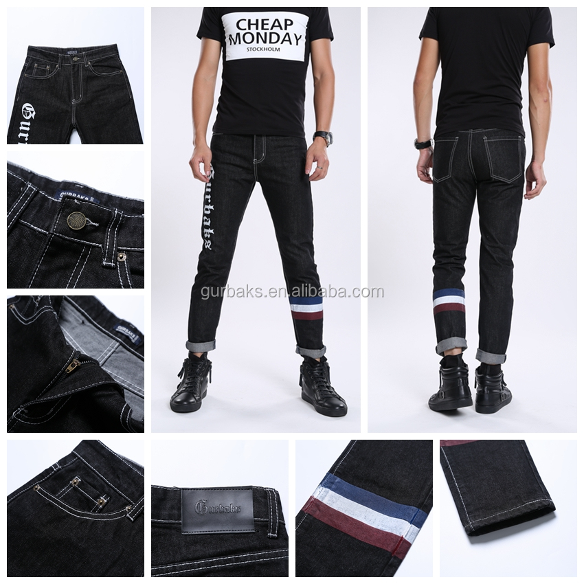 2016 Fashion Man Latest Different Size Boy New Model Jeans