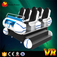 6dof Platform System 6 Seats 9d Vr Family, Special Effects Dynamic 9d Vr