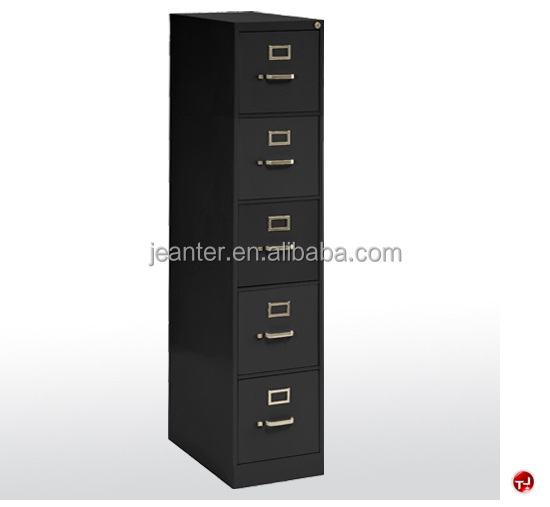 2017 Canton Fair Office stainless Steel Letter 5 Drawer Vertical Filing Cabinet