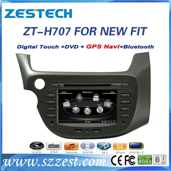 car audio multimedia for honda fit/jazz 2008 2009 2010 2011 with BT/USB/SWC/RDS/Phonebook
