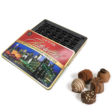 Metal tin box for chocolate candy tin can packaging