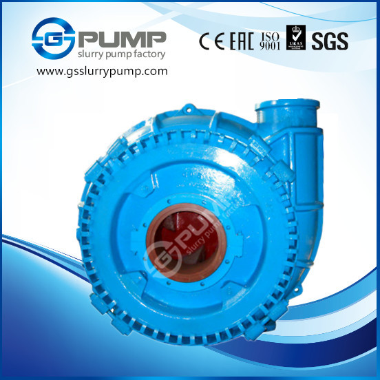 Large passage suck coarse sand slurry pump on boat