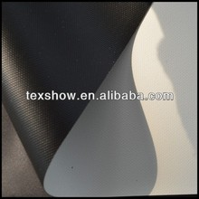 PVC white matt fabric for projection screen fabric