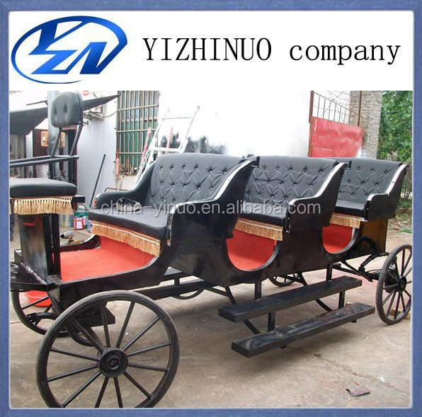 Yizhinuo Victoria sightseeing horse drawn wagon tourist horse carriages
