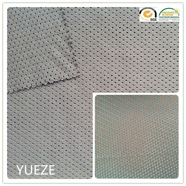 100% polyester small hole mesh fabric for lining/garment