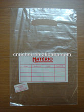 Degradable polyethylene die cut / punch handle bags