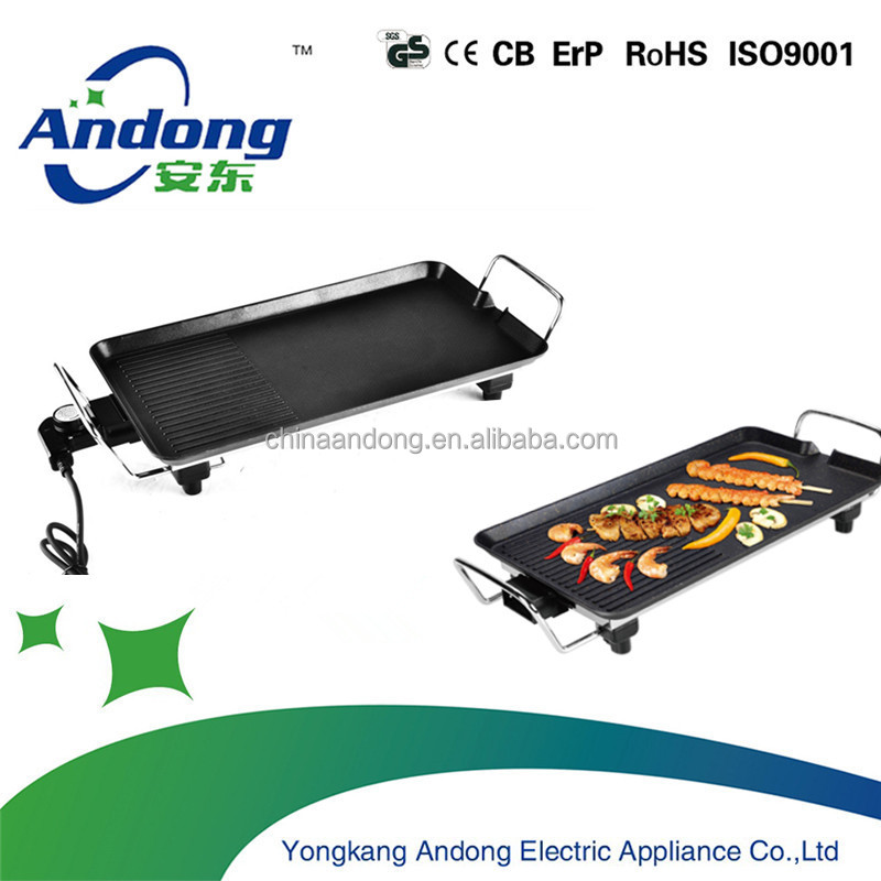 Non-stick coating electric grill