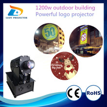 Cheapest Promotion Price 110000 Lumens Big Power Advertising 1200W Outdoor Gobo Projector