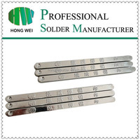 Sn99.5Cu0.5 lead free pure tin solder bar
