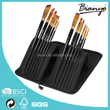 Wholesale 12 pcs Aritist Paint Brushes Set For Painting