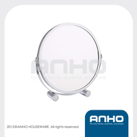 1X/2X magnifying swivel double-sided makeup mirror, Cosmetic mirror