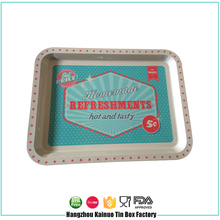 Top Producer Tin Fruit Dish Metal Rolling Packing Tray