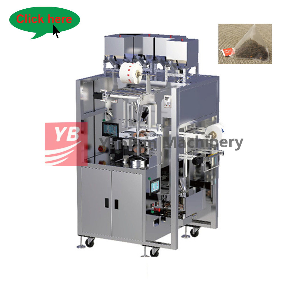 YB-180CS small nylon tea bag packing machine with stainless steel