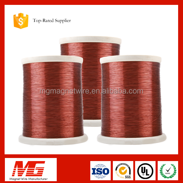 ISO certification sealed motor used polyurethane enamelled coper clad aluminum ecca wire