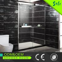 New design bath shower screen glass