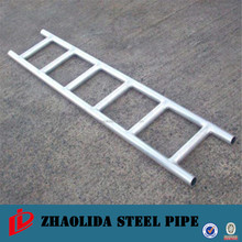 hot dip galvanized ladder beams for scaffold frame