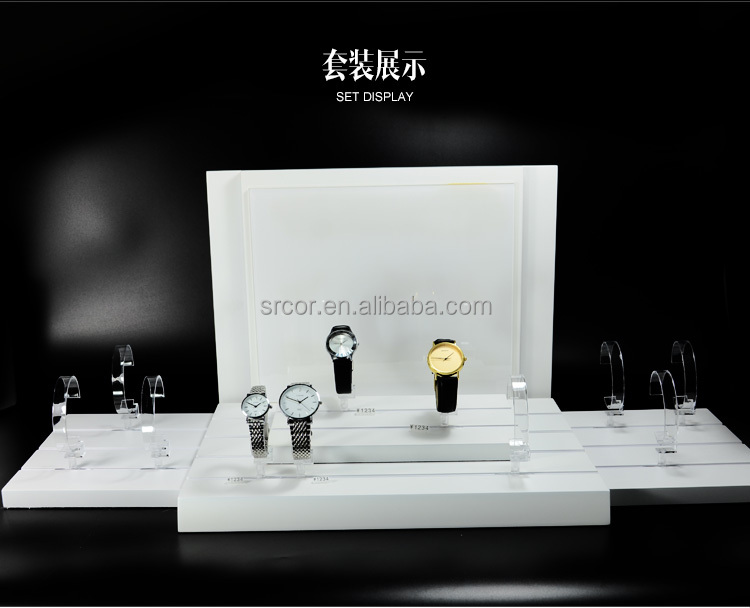 acrylic wrist watch display stand/ bracelet <strong>retail</strong> display rack stand