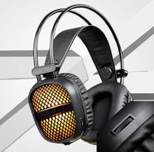 Mic Led Light For Computer Desktop Gaming Headset Over-Ear Headphones Ear Phone Casque Stereo Earphone PC Gaming Headphone