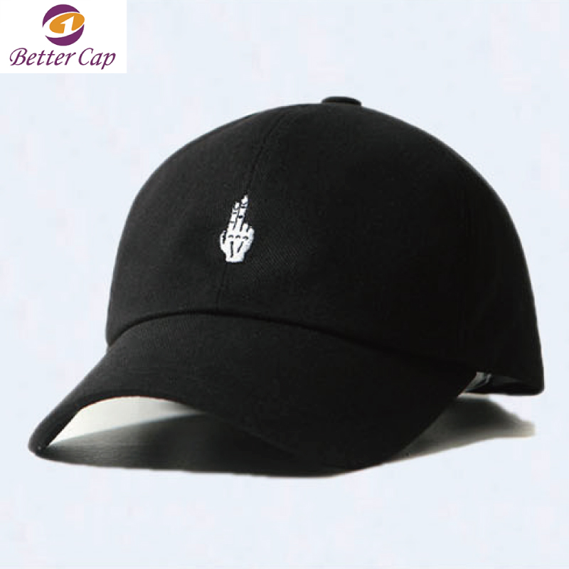 Guangzhou factory custom made high quality unstructured dad hat