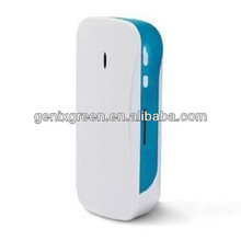Good handle and easy to carry QI wireless portable power bank/3g router mobile charger for smart phones